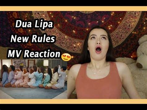 dua lipa new rules m4a dua lipa is a snack new rules mv reaction dua clip60