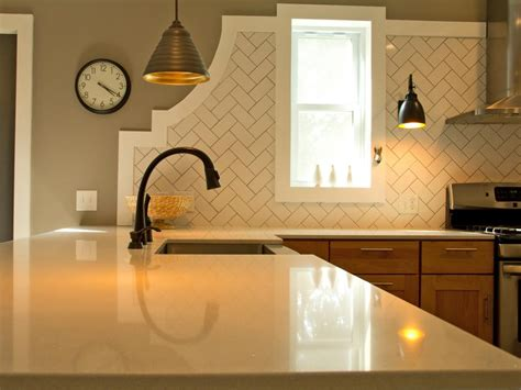 kitchen backsplash material options 30 trendiest kitchen backsplash materials hgtv