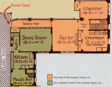 classic 6 floor plan how our half classic six got that way half classic six