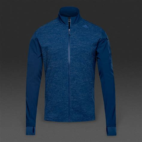 adidas supernova stm jacket mystery blue mens clothing