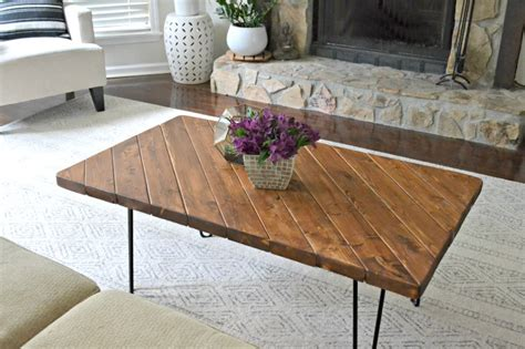 diy hairpin leg coffee table 20 cool coffee table for a diy build home and