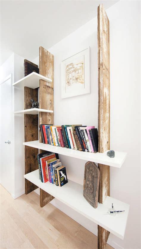 weathered wood shelf diy art