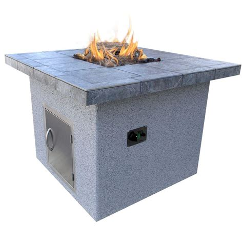 Propane Pit by Real Mezzo 42 In Propane Gas Pit In