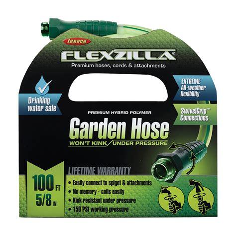 Flexzilla Garden Hose 100 Ft by 100 Ft Flexzilla Garden Hose 5 8 Quot Dia Unoclean