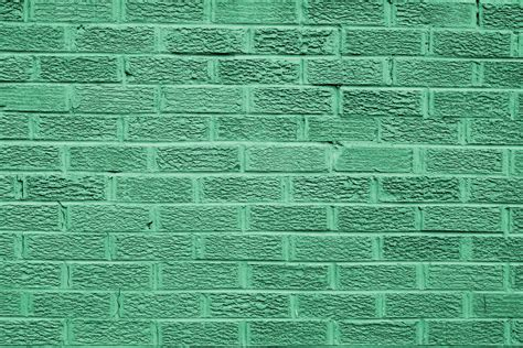 green painted brick wall texture picture free photograph green colored brick wall texture picture free photograph