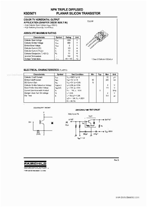Transistor D5071 d5071 71178 pdf datasheet ic on line
