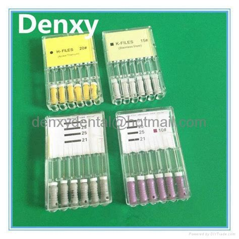 diy root canal root canal file dental products dental file denxy
