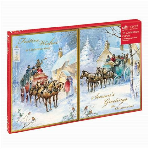 Gift Card Coach - christmas cards coach horse buy online at qd stores