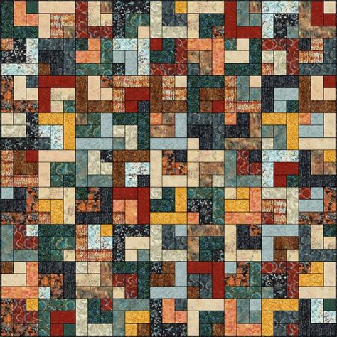 Log Cabin Patchwork Quilt - 99 best log cabin quilt patterns images on
