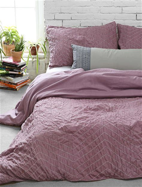 purple ruched comforter purple bedding decor by color