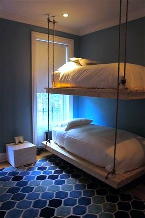 suspended bed kids rooms pinterest room boys boys and hanging beds on pinterest