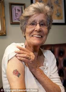 pensioner, 85, stuns family by asking her body artist