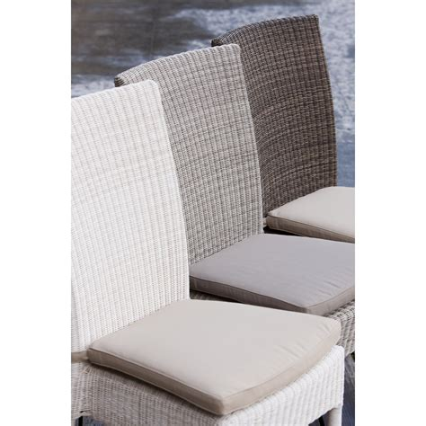 Chaise Blanche 343 by Best Chaise Isabelle Rsine Poivre With Coussin De