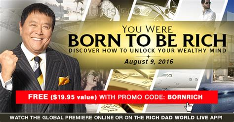 born rich meaning you were born to be rich discover how to unlock your