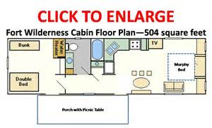 Cabin Floorplan cabins cabins ooo cabins floorplan wdw resorts disney 196 729 cabins