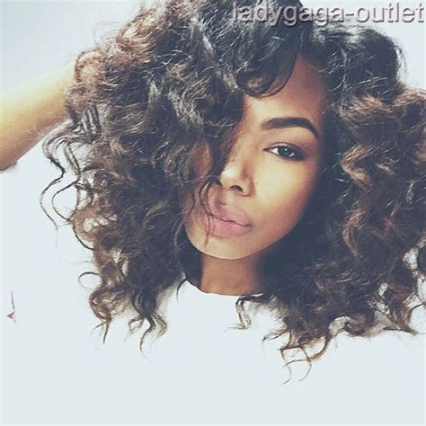 curly hairstyles with long in front short in back real natural short bob lace front wigs women ombre curly