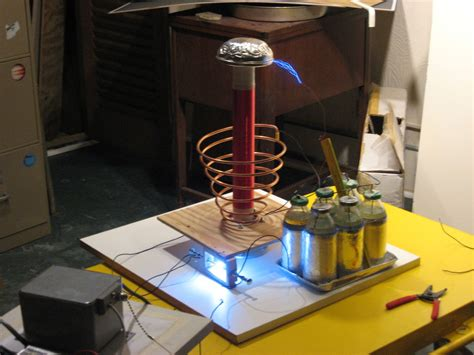 build tesla coil how to build a tesla coil tesla coil tech and