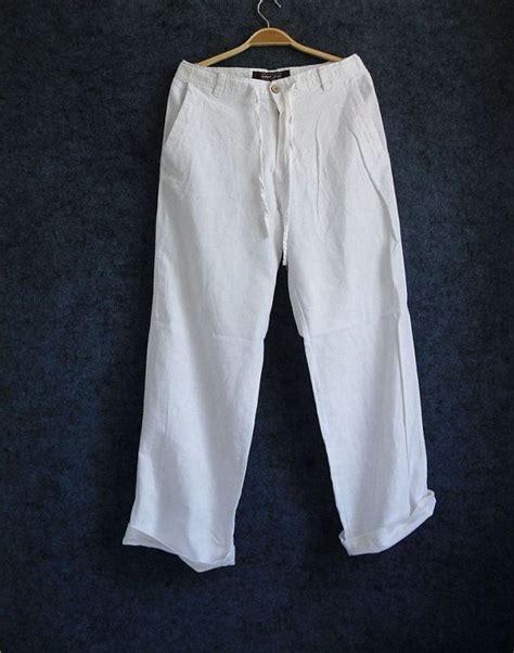 Kemeja Zegna S Summer Linen Cotton Trousers Fit