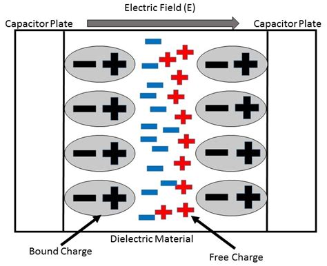 capacitor bound charge dielectric polarization engineering libretexts