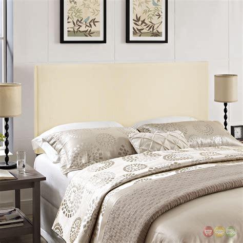 Bassett Furniture 5211 by Region Modern Plain Upholstered Headboard Ivory