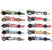 AUSmotivecom &187 The Formula 1 Cars Of 1971