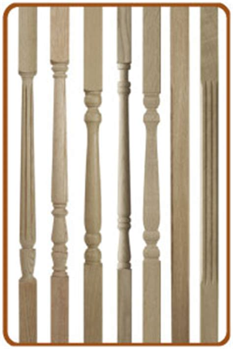 Wooden Banister Parts Stair Spindles And Stair Balusters Trade Prices