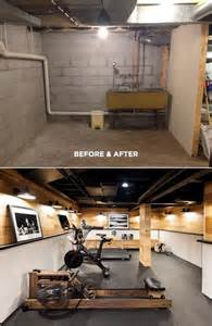 Make Your Basement Ideas So Cool Basement Before And After The Everygirl Decorates