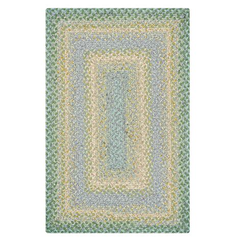cotton braided rugs buy baja blue cotton braided rugs homespice