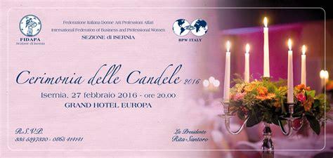 cerimonia delle candele eventi fidapa cerimonia delle candele 2016 quotidiano