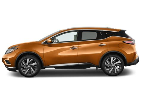 Image: 2017 Nissan Murano FWD Platinum Side Exterior View