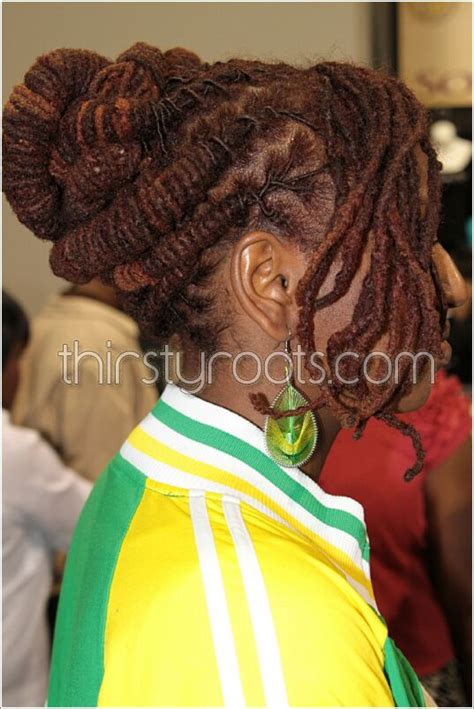 Dreadlock Pin Up Hairstyles by Pin Up Dread Hair Style Hairstylegalleries