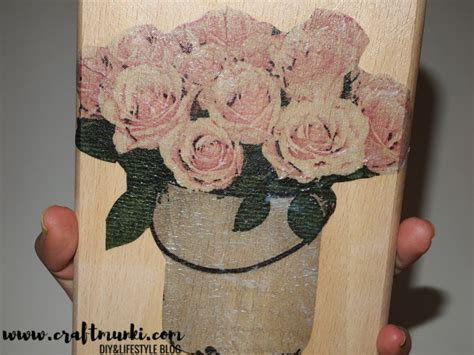 Decoupage Without Wrinkles - decoupage without wrinkles decoupage tutorial decoupage