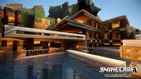 Step 2 Kitchens by Luxurious Cove House Map 1 12 2 1 11 2 For Minecraft