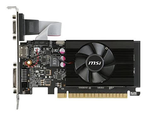 Vga Card Msi msi computer vga graphic card gt 710 2gd3 lp