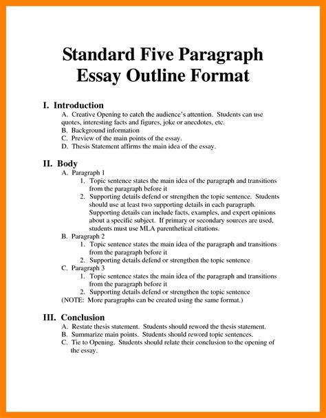 mla format essay generator mla format outline fresh snapshot essay exle 7