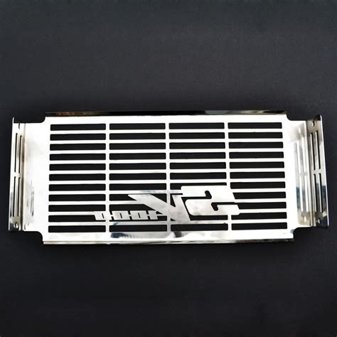 Cover Radiator Stainless Vixion suzuki sv1000 03 08 stainless steel radiator cover cooler grill guard ebay