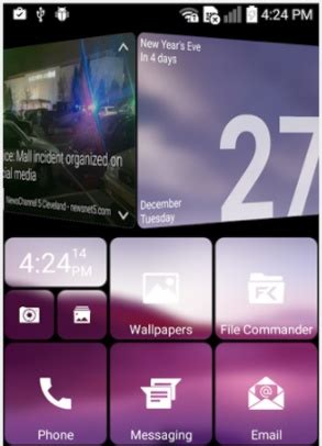 get windows 10 live tiles on android thanks to squarehome