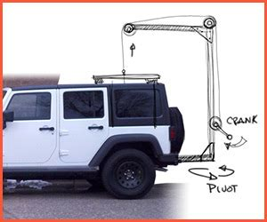 jeep wrangler top removal one person best hardtop hoist for jeep wrangler jk not just a hobby