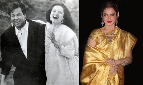 rekha husband mukesh aggarwal death bollywood rekha husband mukesh aggarwal death र ख च य