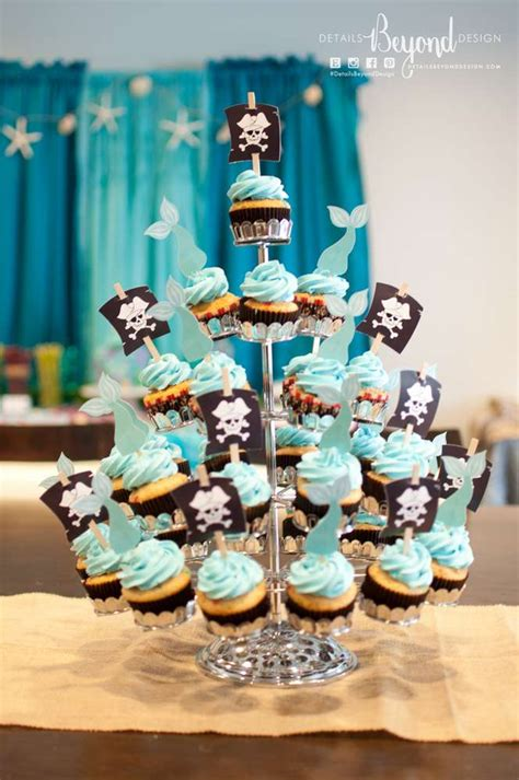 Mermaid And Pirate Decorations by Pirate Mermaid The Sea Birthday Ideas