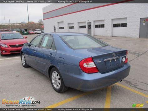 2004 Toyota Camry Xle 2004 Toyota Camry Xle Blue Metallic Photo