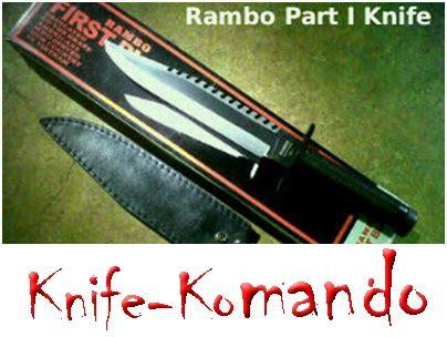 Pisau Rambo Asli jual sangkur pisau komando pedang dan segala jenis