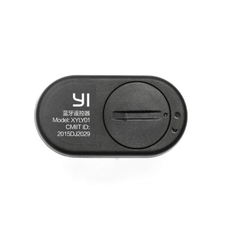 Xiaomi Original Bluetoothwireless Remote Shutter Yi Black original xiaomi yi bluetooth shutter for in