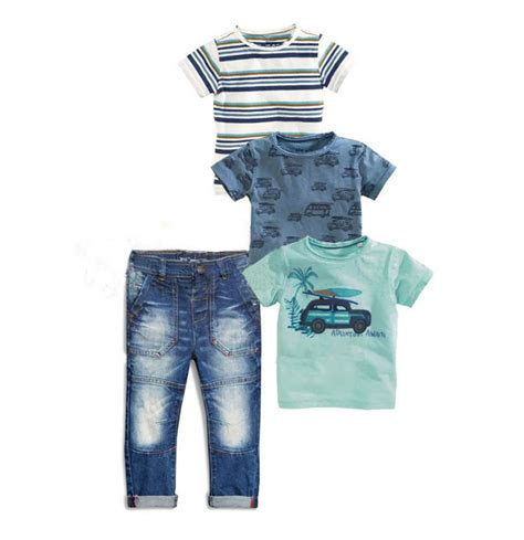 Gap Set Boy 3 In1 4pcs set sets for boys baby clothes chlildren boy clothing set summer stripe car