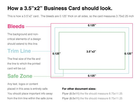 business card templates help center