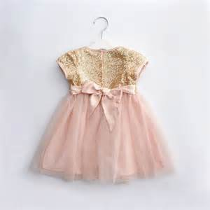 Baby party dress 1 year birthday dresses cotton baby girls dress
