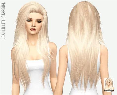 sims 4 longest hair spring4sims leahlilith stargirl long hair for the sims 4