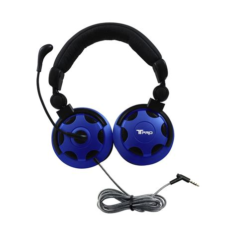 Headset Plus Microphone hamiltonbuhl t pro trrs school testing headset with noise cancelling microphone encore data