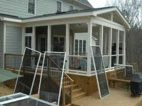 screen porch design plans bloombety screened in porch ideas with the repairment