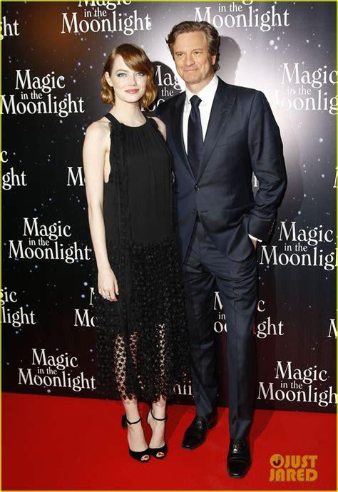emma stone colin firth magic in the moonlight l avant premi 232 re 224 paris popmovies
